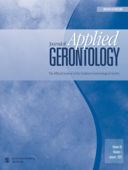 Journal of Applied Gerontology Journal Subscription
