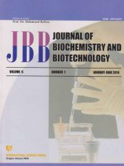 Journal of Biochemistry and Biotechnology Journal Subscription