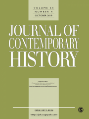 Journal of Contemporary History Journal Subscription