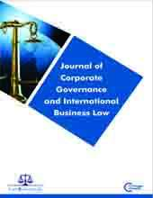 Journal of Corporate Governance and International Business Law Journal Subscription