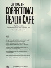 Journal of Correctional Health Care Journal Subscription