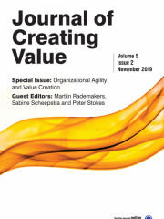 Journal of Creating Value Journal Subscription