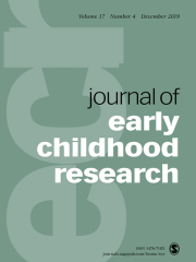 Journal of Early Childhood Research Journal Subscription