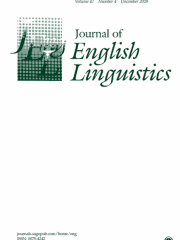 Journal of English Linguistics Journal Subscription