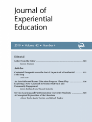Journal of Experiential Education Journal Subscription
