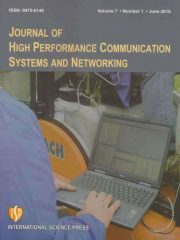 Journal of High Performance Communication Systems and Networking Journal Subscription