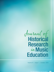 Journal of Historical Research in Music Education Journal Subscription