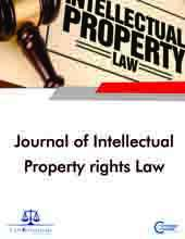 Journal of Intellectual Property Rights Law Journal Subscription