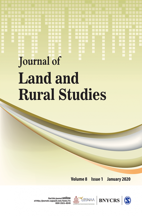 Journal of Land and Rural Studies Journal Subscription