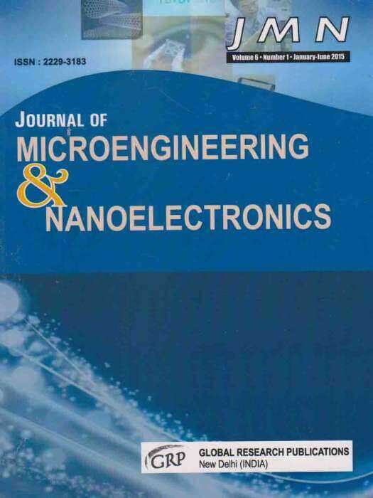 Journal of Microengineering and Nanoelectronics Journal Subscription