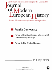Journal of Modern European History Journal Subscription