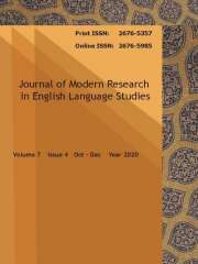 Journal of Modern Research in English Language Studies Journal Subscription