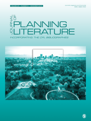 Journal of Planning Literature Journal Subscription