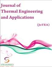 Journal of Thermal Engineering and Applications Journal Subscription