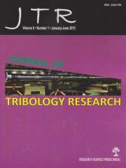 Journal of Tribology Research Journal Subscription
