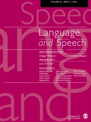 Language & Speech Journal Subscription