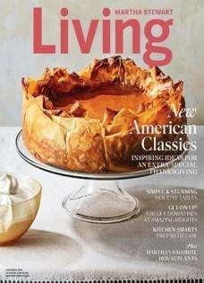 Martha Stewart Living - US Edition International Magazine Subscription