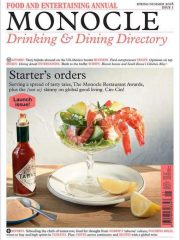 Monocle Drinking & Dining Directory - UK Edition International Magazine Subscription