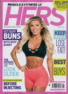 Muscle & Fitness Hers - UK Edition International Magazine Subscription