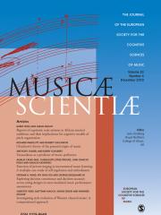 Musicae Scientiae Journal Subscription
