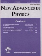 New Advances in Physics Journal Subscription