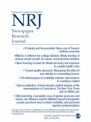Newspaper Research Journal Journal Subscription