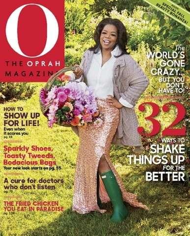 O, The Oprah Magazine - US Edition International Magazine Subscription
