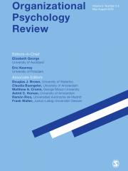 Organizational Psychology Review Journal Subscription