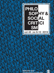 Philosophy & Social Criticism Journal Subscription