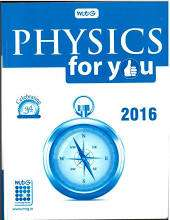 Physics For You Bound Volumes -2016 (Jan- Dec) Magazine Subscription