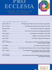Pro Ecclesia Journal Subscription
