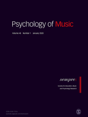Psychology of Music including Research Studies in Music Education Journal Subscription
