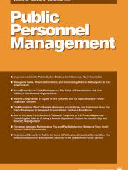 Public Personnel Management Journal Subscription