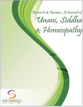 Research and Reviews: A Journal of Unani, Siddha and Homeopathy(RRJoUSH) Journal Subscription