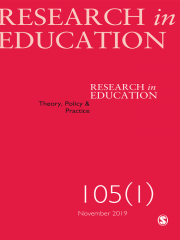Research in Education Journal Subscription