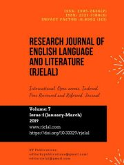Research Journal of English Language and Literature (RJELAL) Journal Subscription