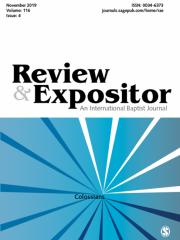 Review & Expositor: An International Baptist Journal Journal Subscription
