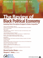 Review of Black Political Economy Journal Subscription