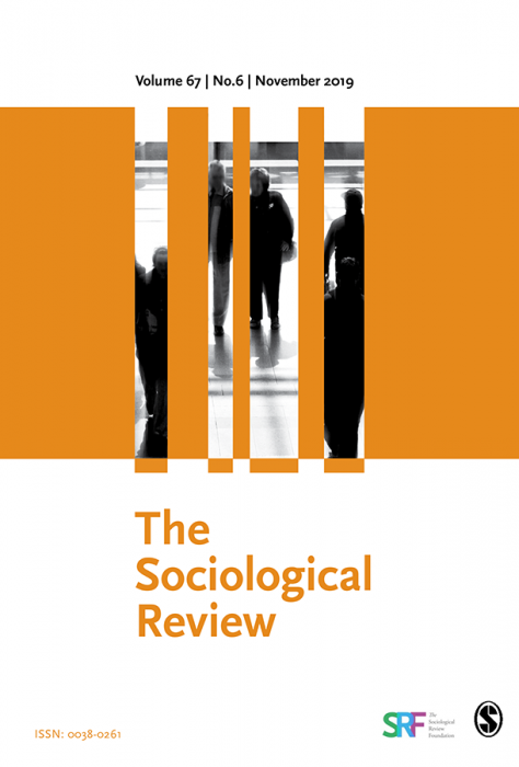 Buy Sociological Review Journal Subscription - SAGE ...