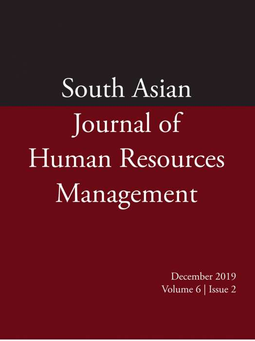 South Asian Journal of Human Resources Management Journal Subscription