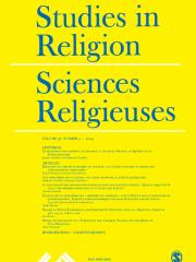 Studies in Religion/ Sciences Religieuses Journal Subscription