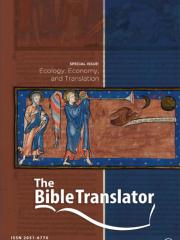 The Bible Translator Journal Subscription