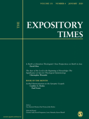 The Expository Times Journal Subscription