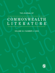 The Journal of Commonwealth Literature Journal Subscription