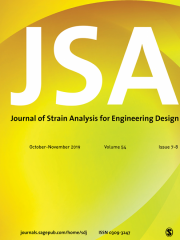 The Journal of Strain Analysis for Engineering Design Journal Subscription