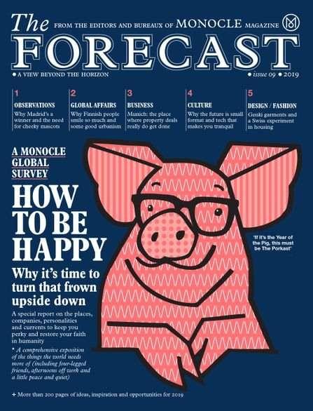 The Monocle Forecast - UK Edition International Magazine Subscription