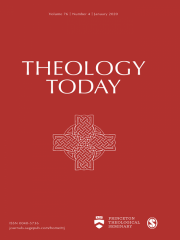 Theology Today Journal Subscription