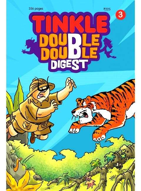 TINKLE DOUBLE DOUBLE DIGEST 3 Magazine Subscription