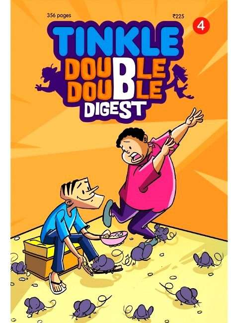 TINKLE DOUBLE DOUBLE DIGEST 4 Magazine Subscription