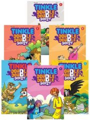 TINKLE DOUBLE DOUBLE DIGEST ( Pack of 6) Magazine Subscription
